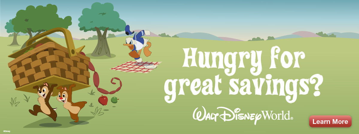 Disney World Savings Ad