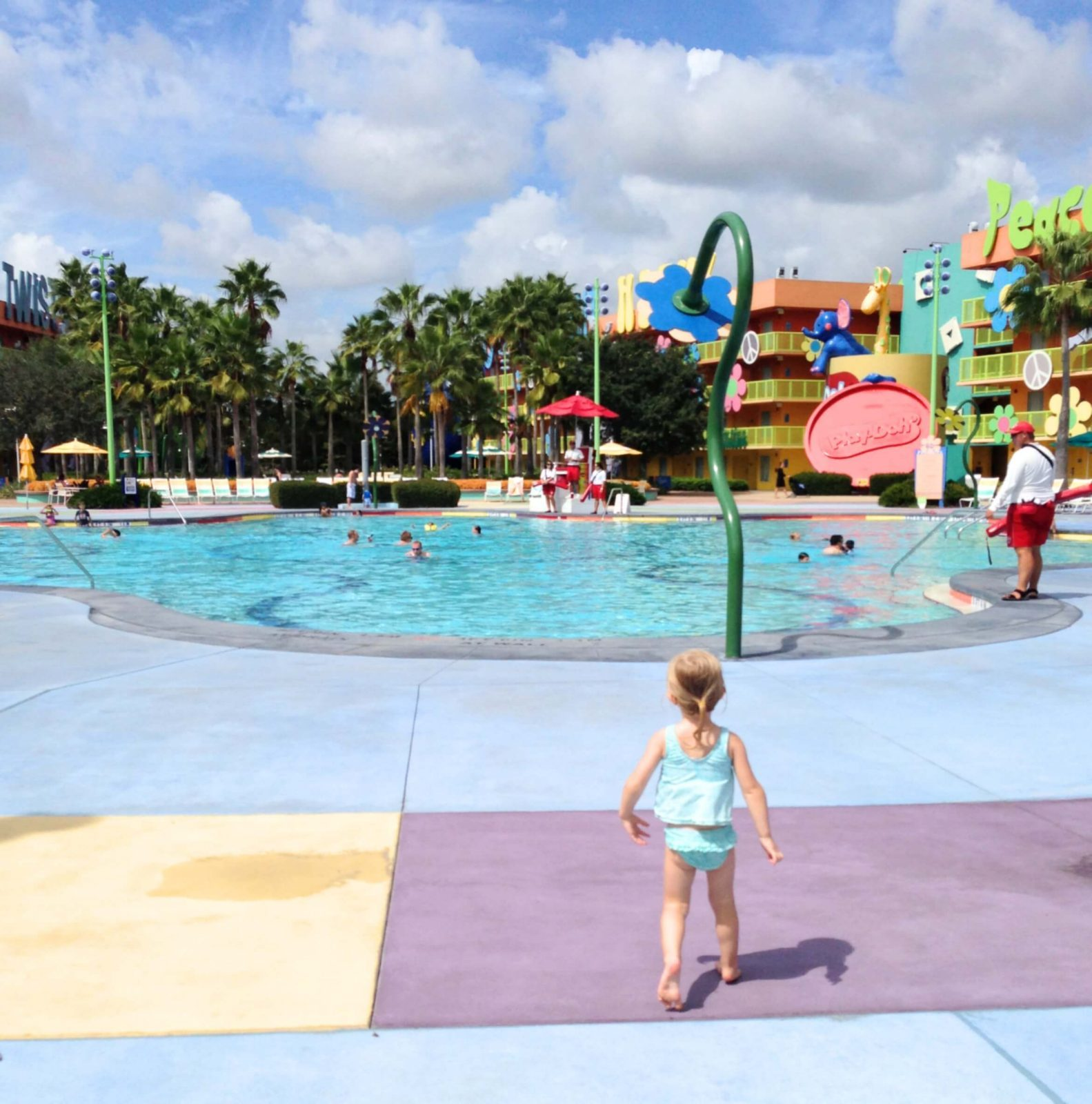 pool at Disney's Pop Century Resort