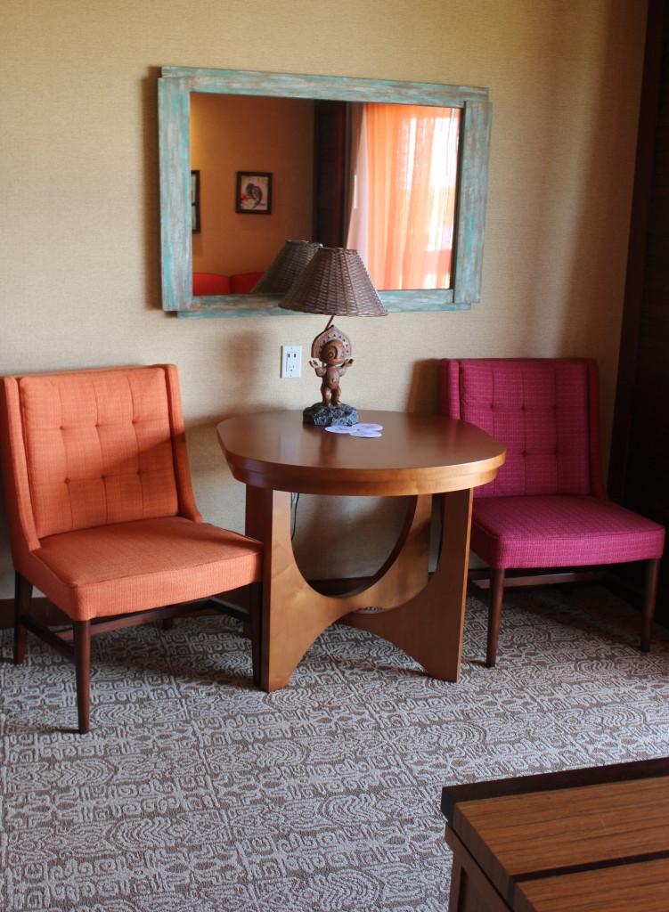 studio villa sitting area