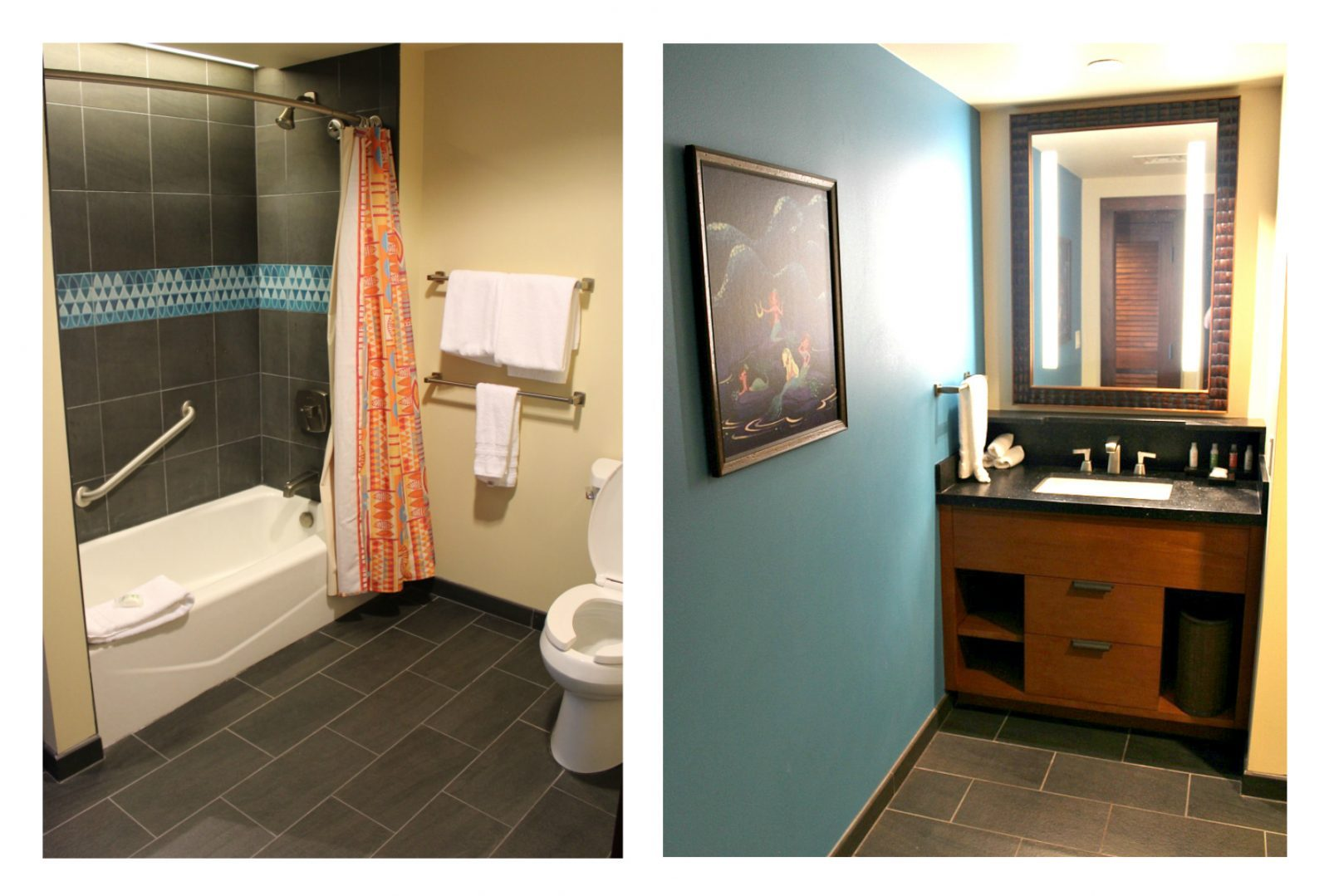 studio villa bathroom