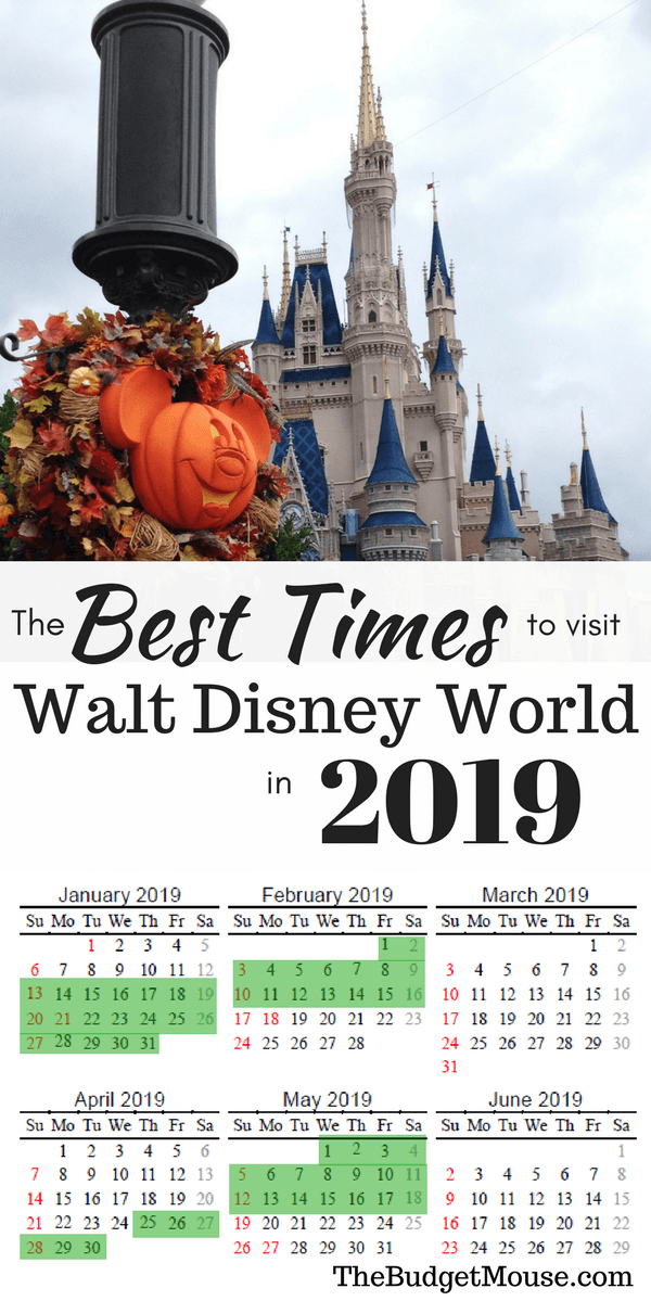 Best Dates To Travel To Wdw
