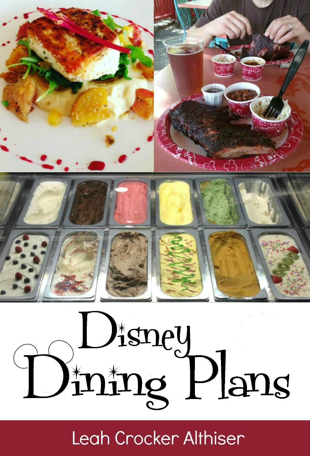 disney dining plans ebook image