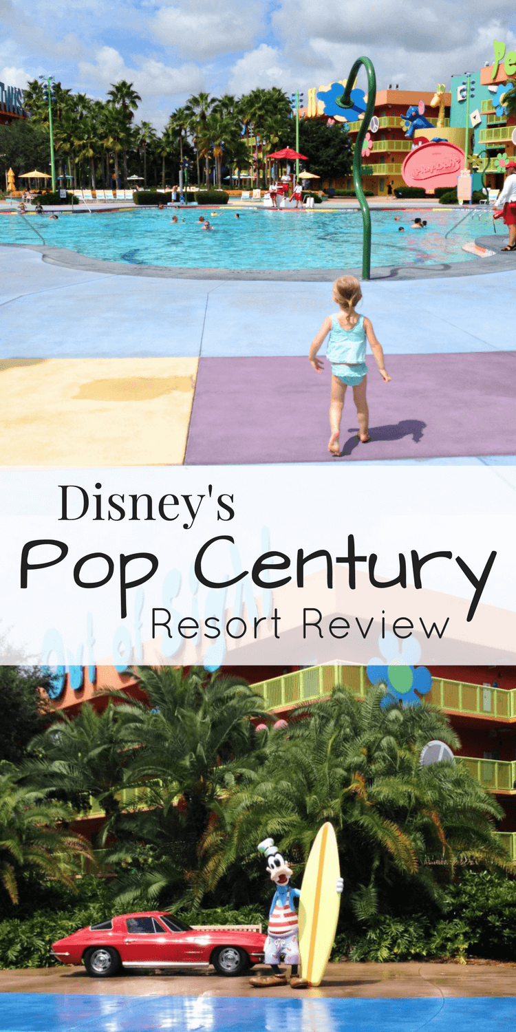 A thorough review of Disney's Pop Century resort! Lots of photos and descriptions of the rooms, pools, and amenities at this Value resort in this Pop Century Resort review. #disneyworld #familytravel