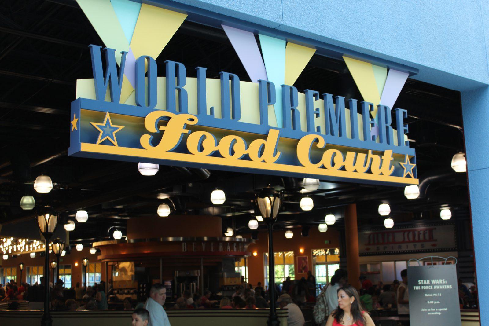 World Premiere Food Court