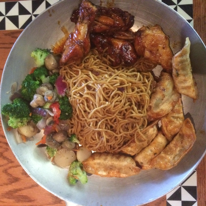 plate of food at O'hana