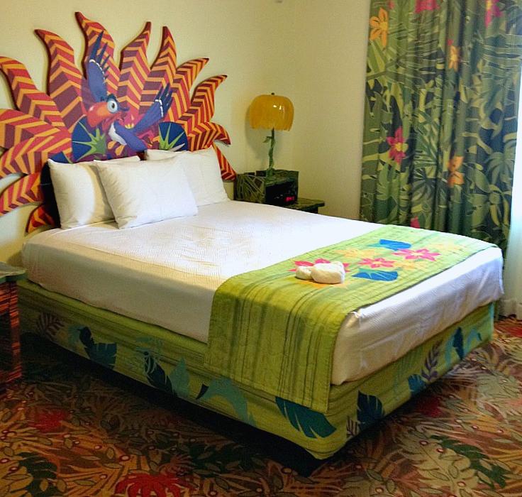 Lion king themed resort room