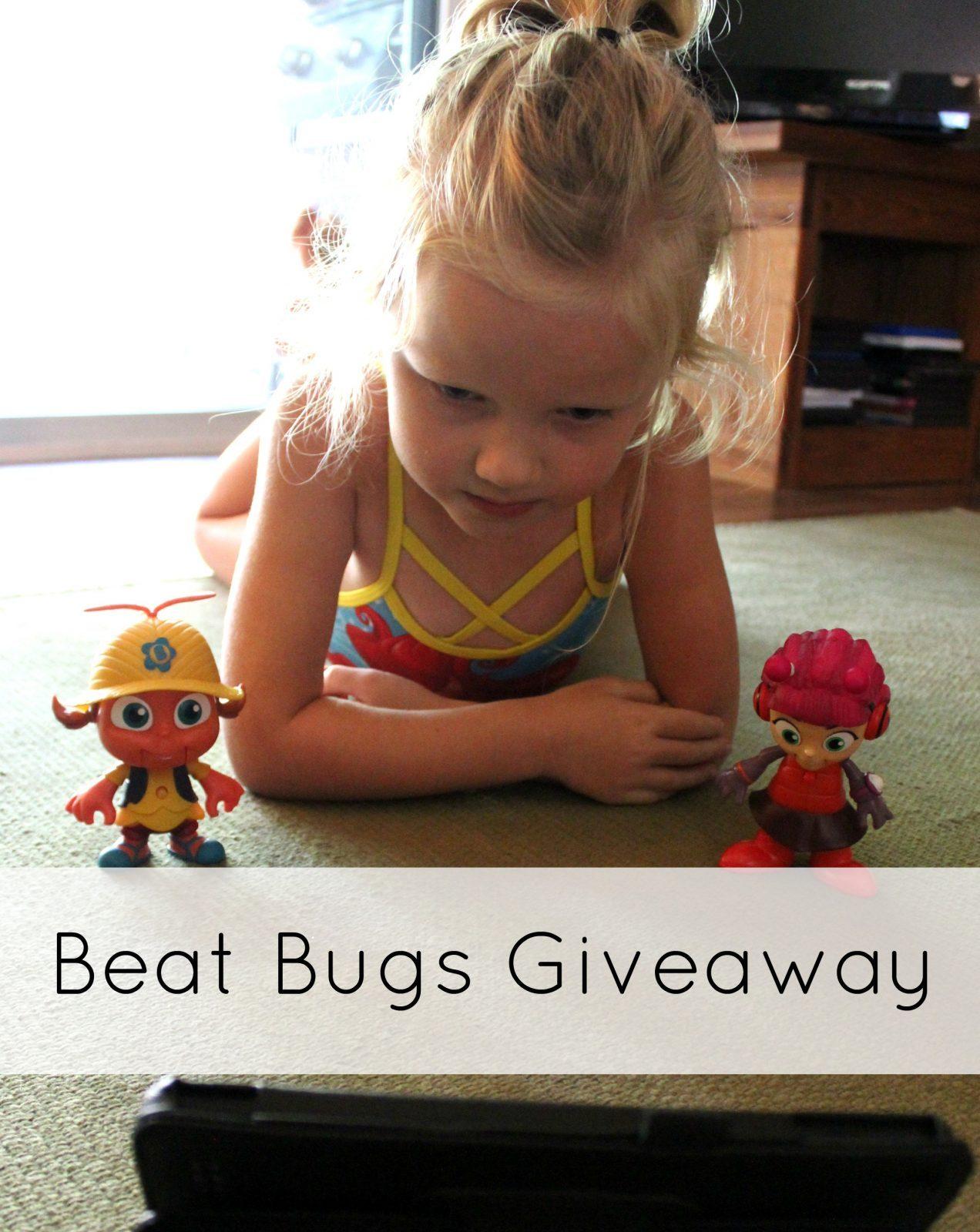 beat bugs giveaway pinterest image