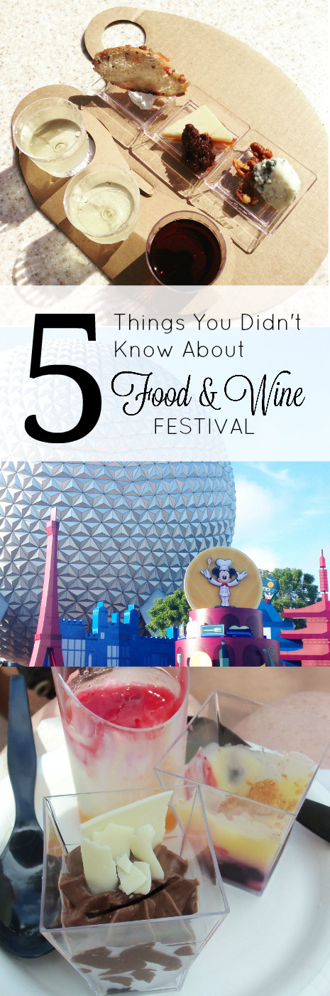 Here are some tips you probably don't know about the Epcot International Food & Wine Festival!