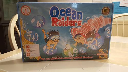 ocean raiders board game