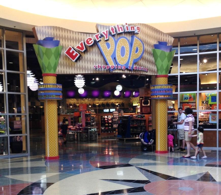 everything pop food court - best disney value resort