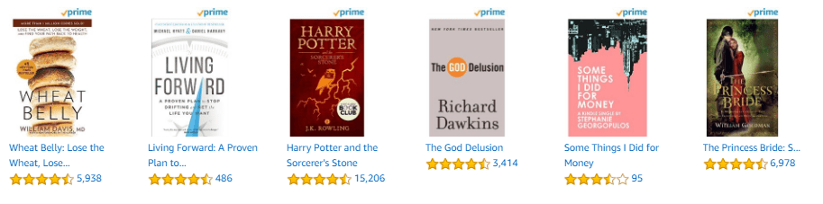 book options on prime reading