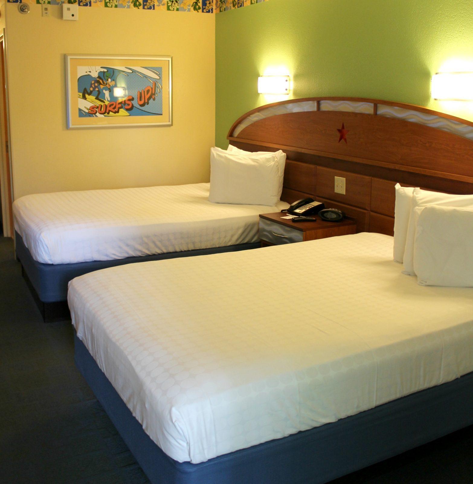 beds in disney all star resort