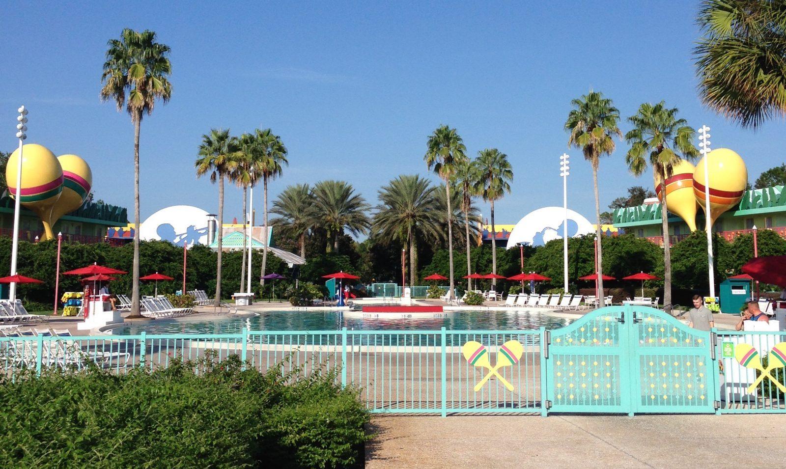 main pool at all star music resort