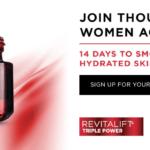 Free 14-Day Sample of L'Oreal Revitalift Moisturizer
