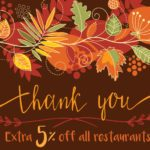 CardCash: Extra 5% Off All Restaurant Gift Cards