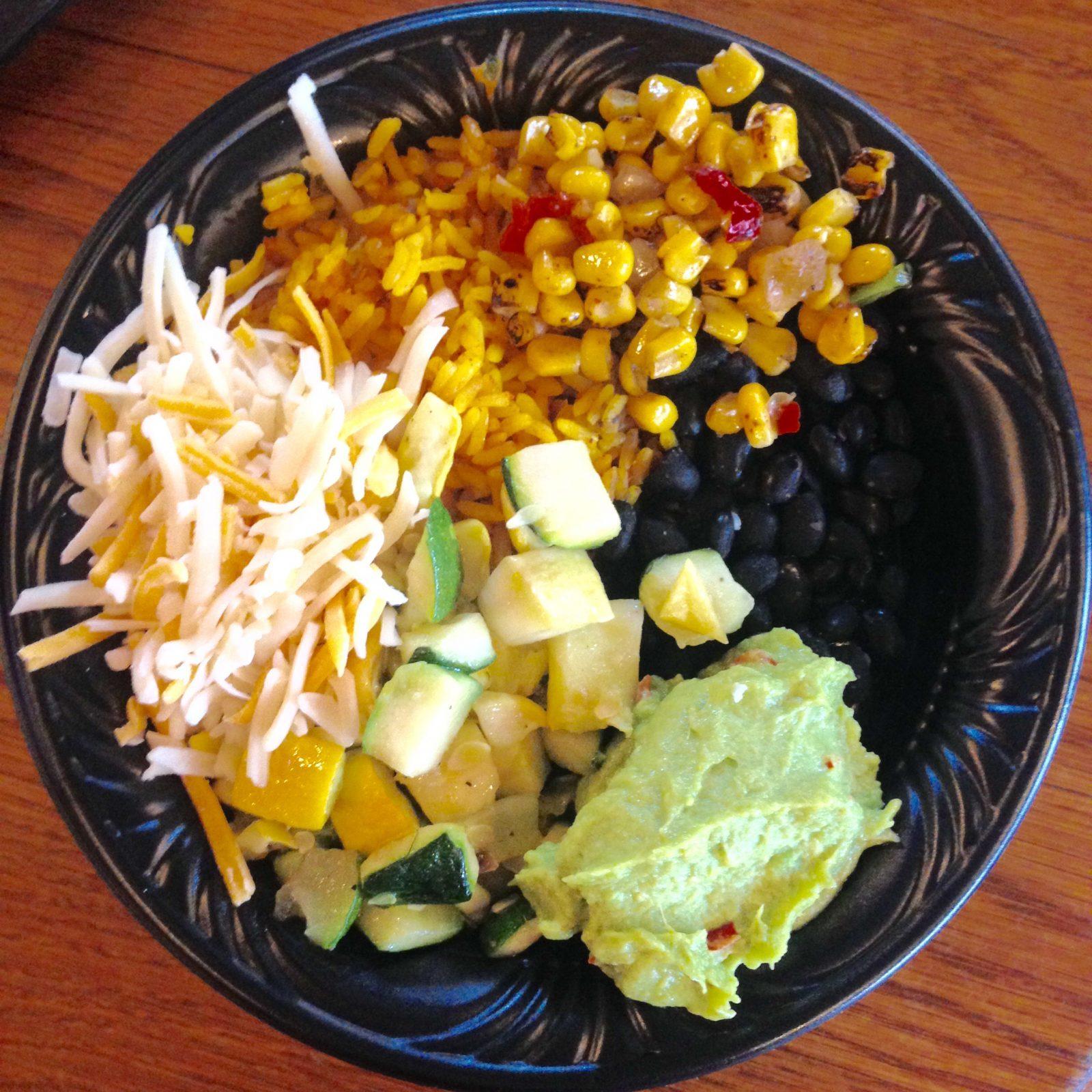 Veggie Bowl at Pecos Bill's, Magic Kingdom