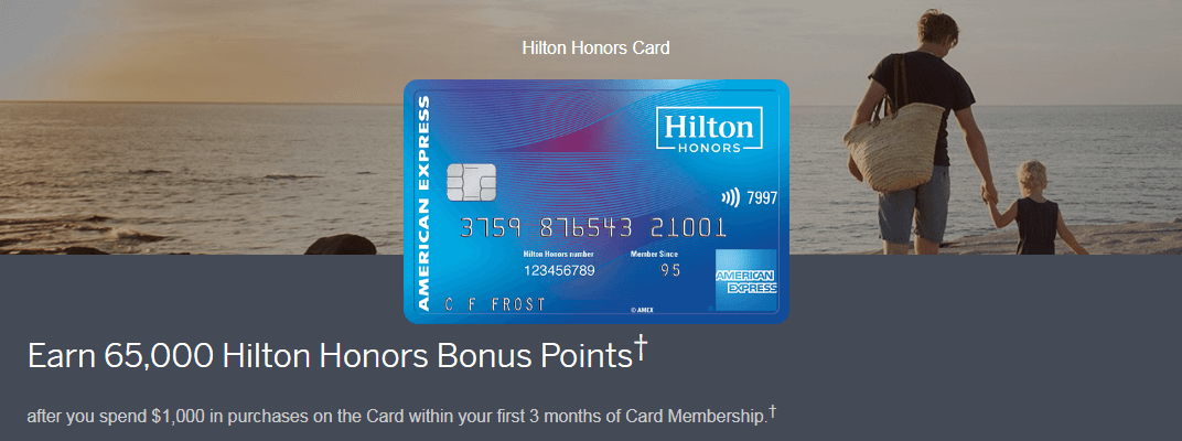 hilton honors credit card promotion