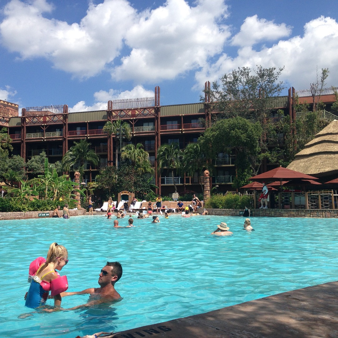 Disney's Animal Kingdom Lodge Jambo House and feature pool