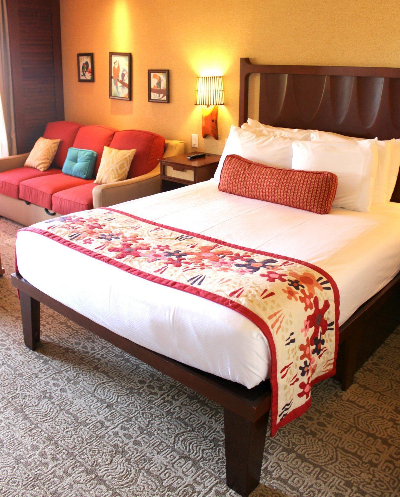 disney resort room at the Polynesian