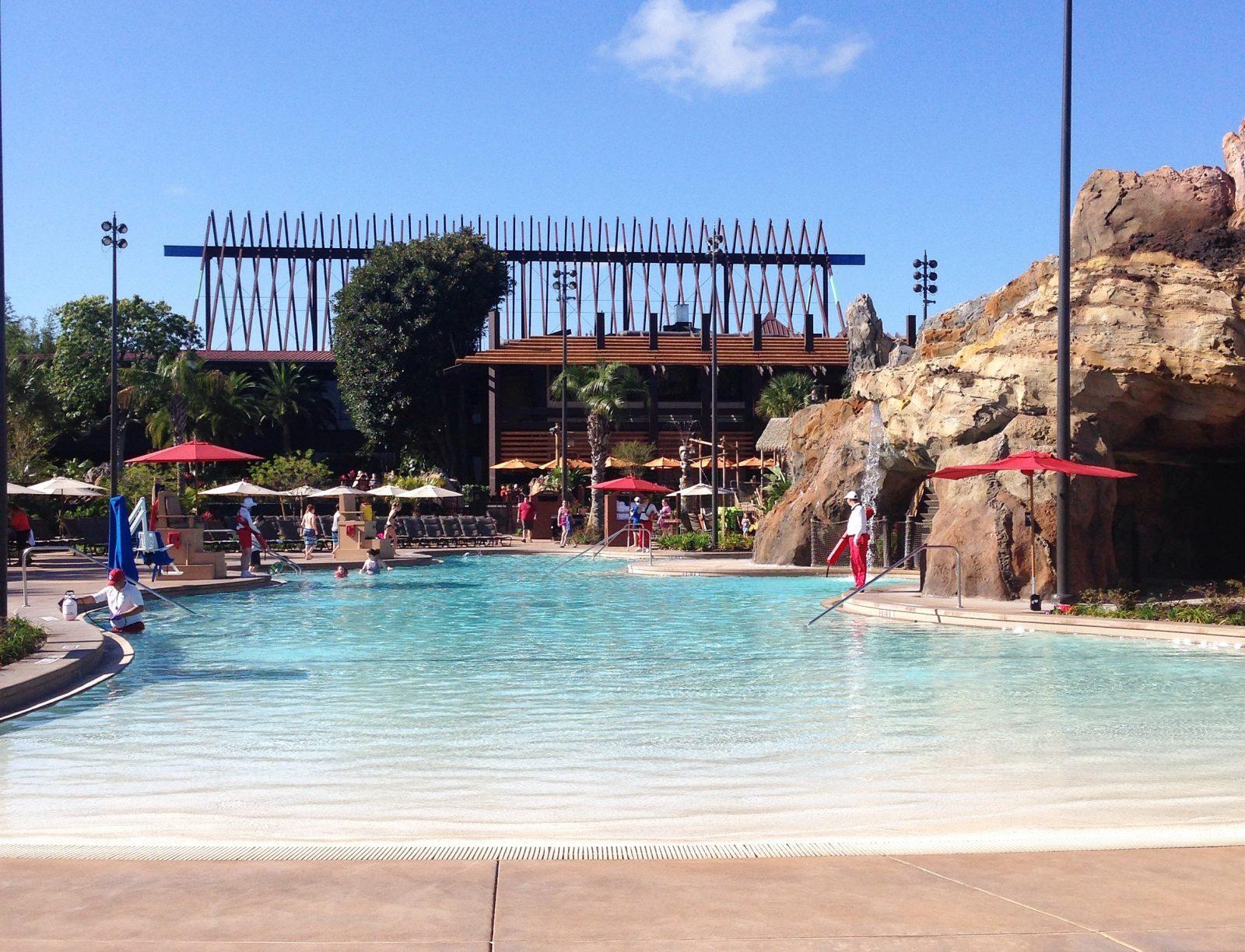 feature pool at Disney's Polynesian Village Resort