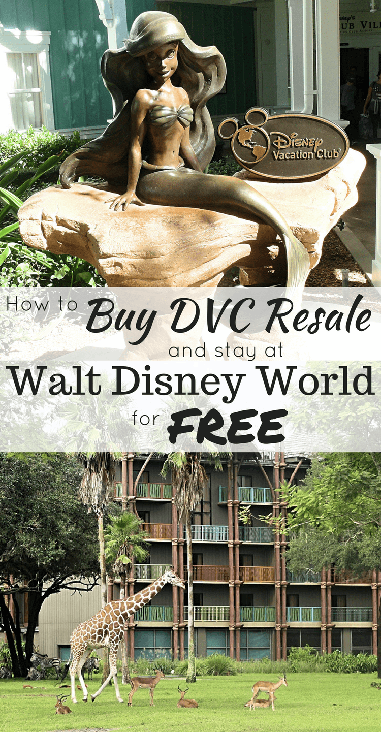 How to save thousands when you buy DVC on the resale market, plus how to rent your points to pay your annual dues and stay at Disney World for free every year! Becoming a Disney Vacation Club owner on the resale market can help you visit Disney more often. #disneyworld #familytravel