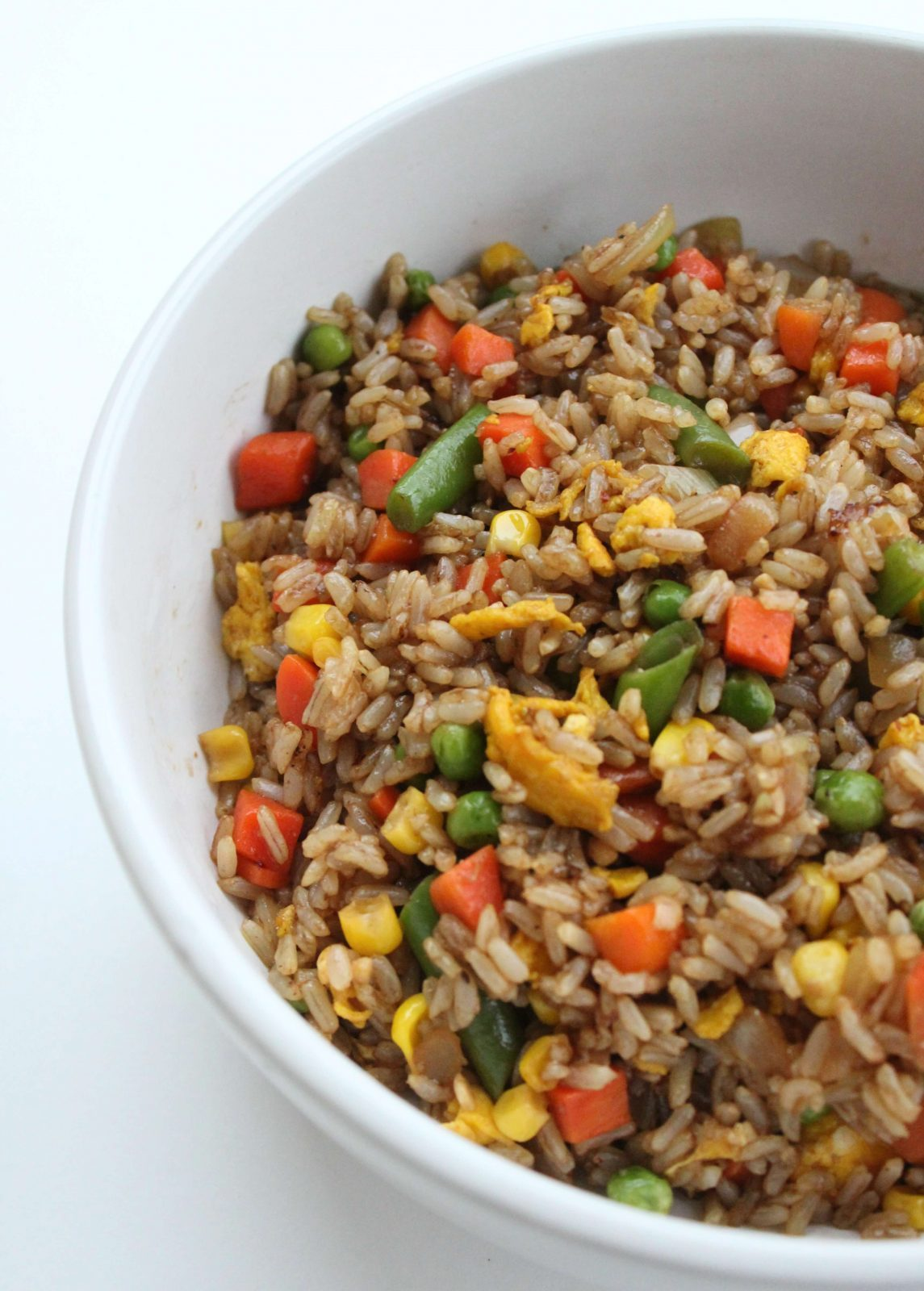 Veggie Fried Rice in a bowl
