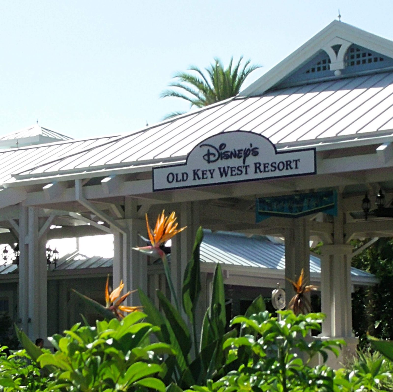 exterior view of old key west resort