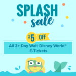 Get an EXTRA $5 Off Already Discounted Disney World Tickets!