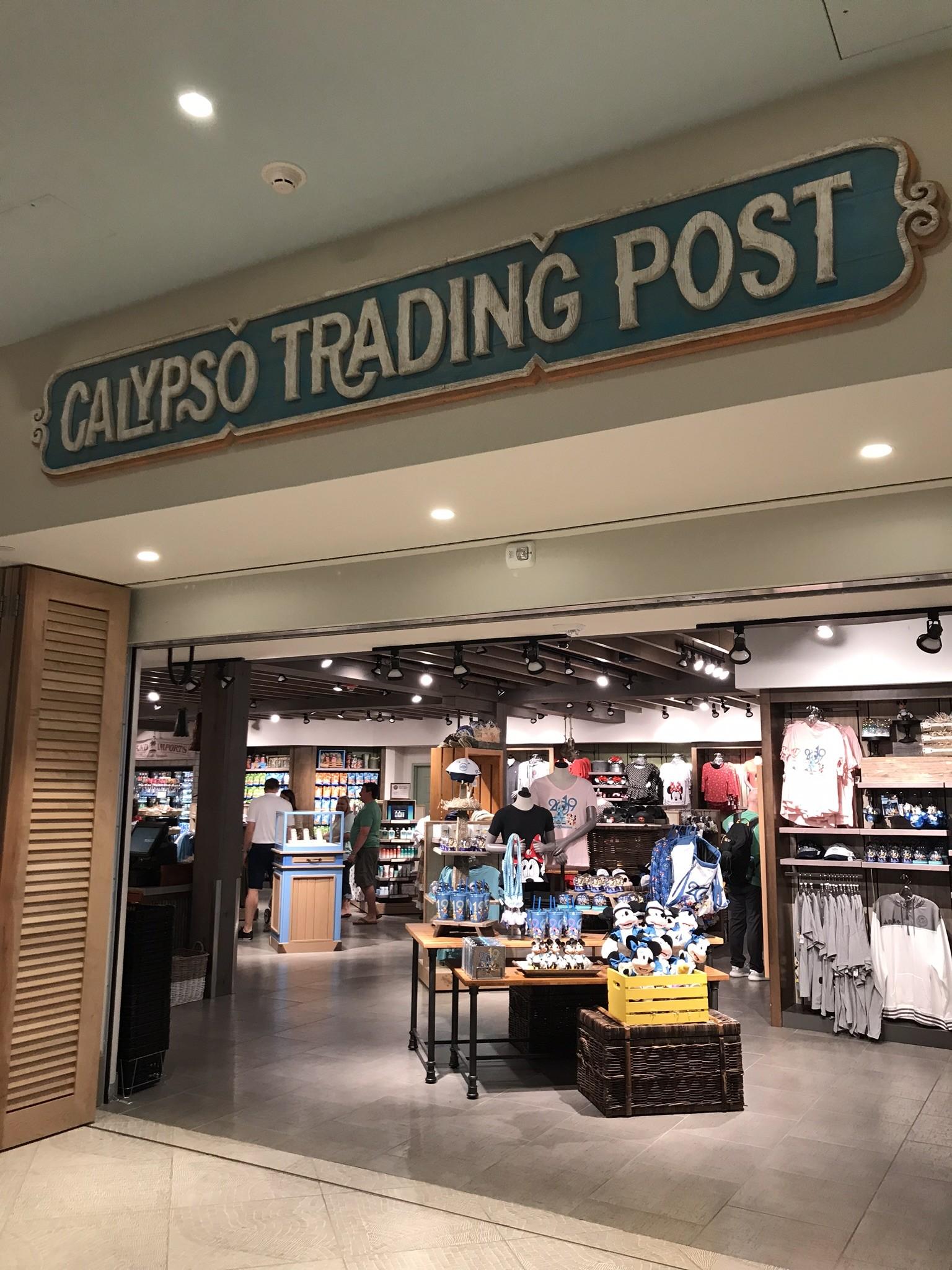 calypso trading post souvenir store