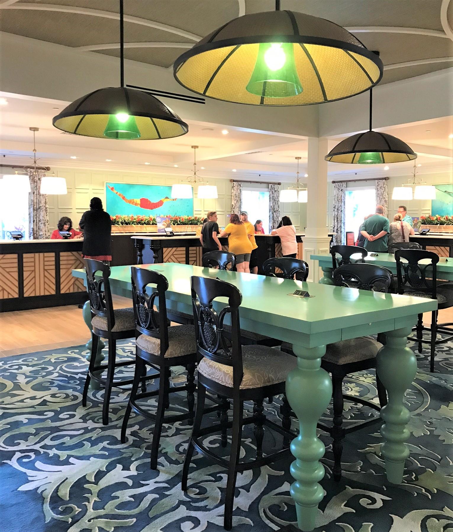 caribbean beach resort new check-in desk