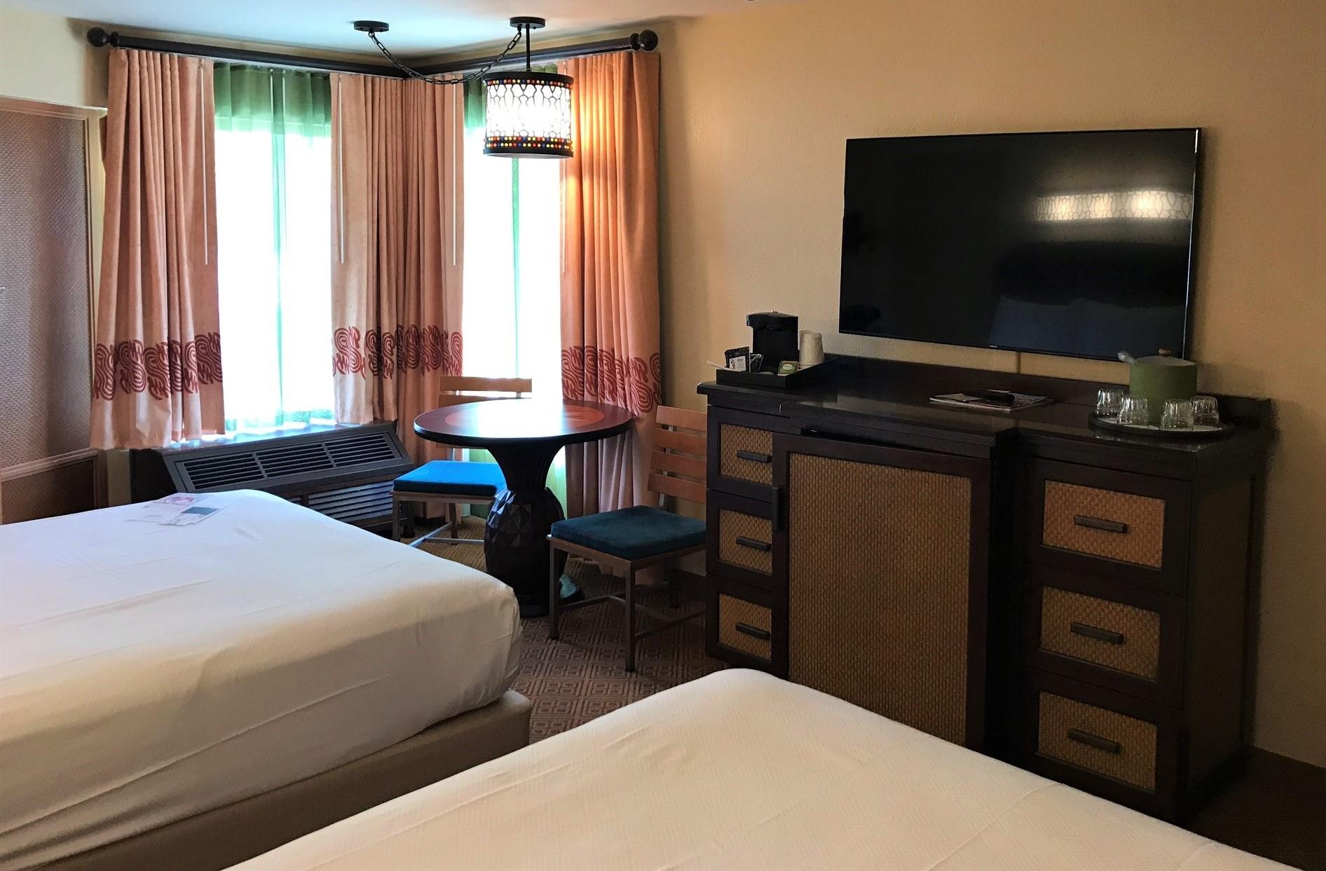 interior resort room