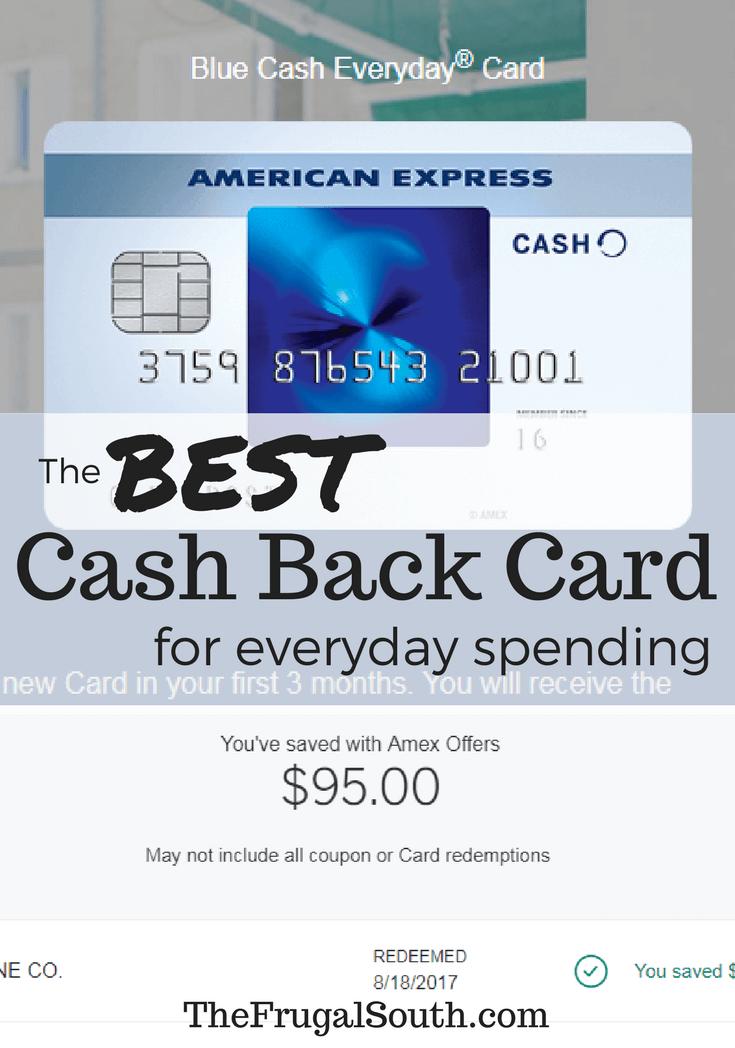 The BEST cash back credit card for everyday spending pinterest image
