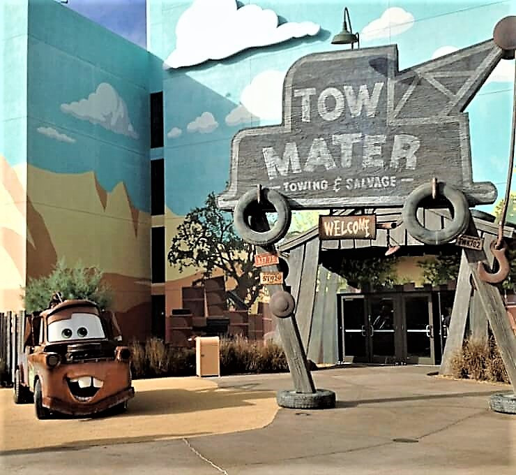 Mater at all star resort