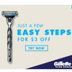 Father's Day Gift Idea: Gillette Mach3 Gift Set Only $7!