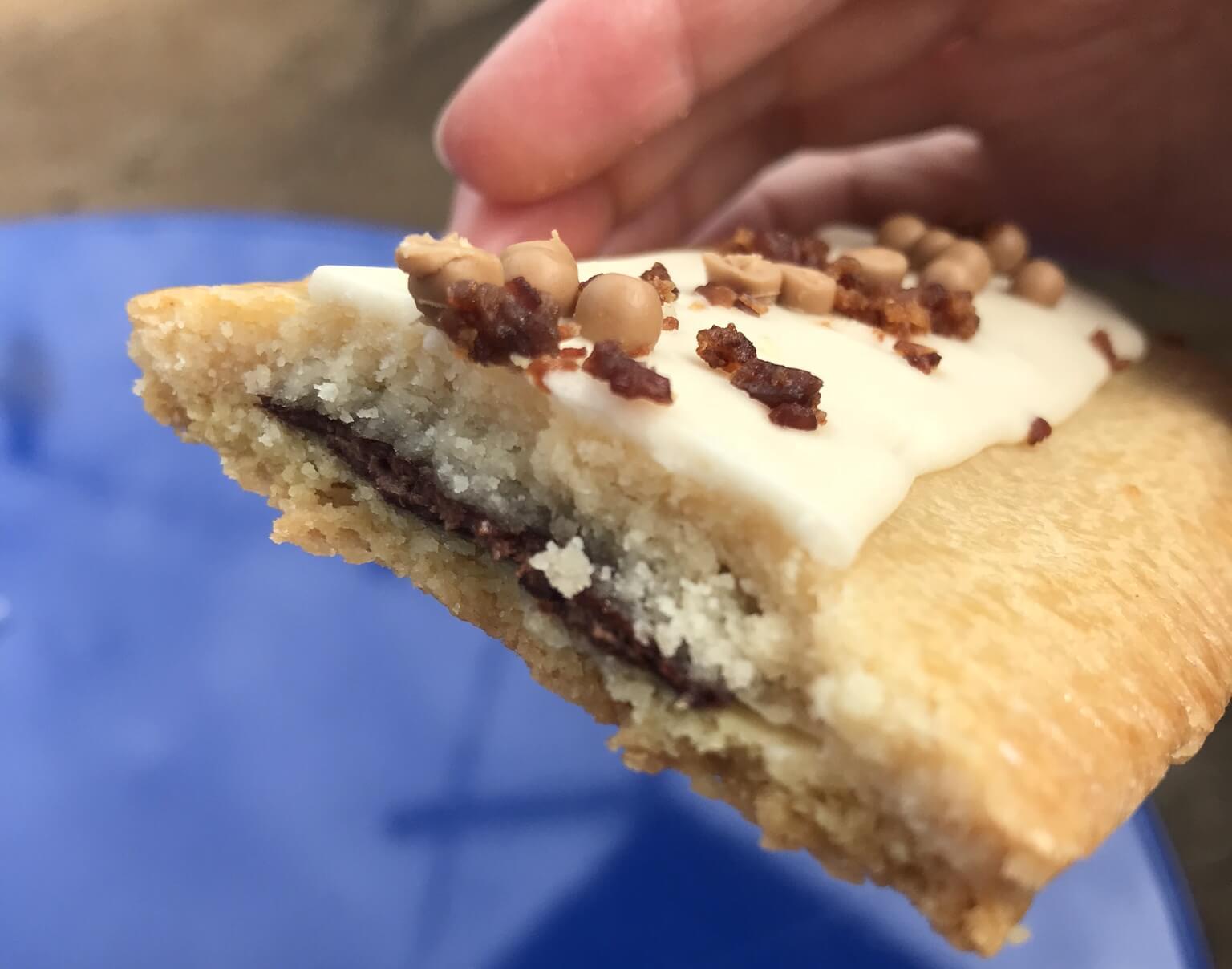 Chocolate Hazelnut Tart from woody's lunch box