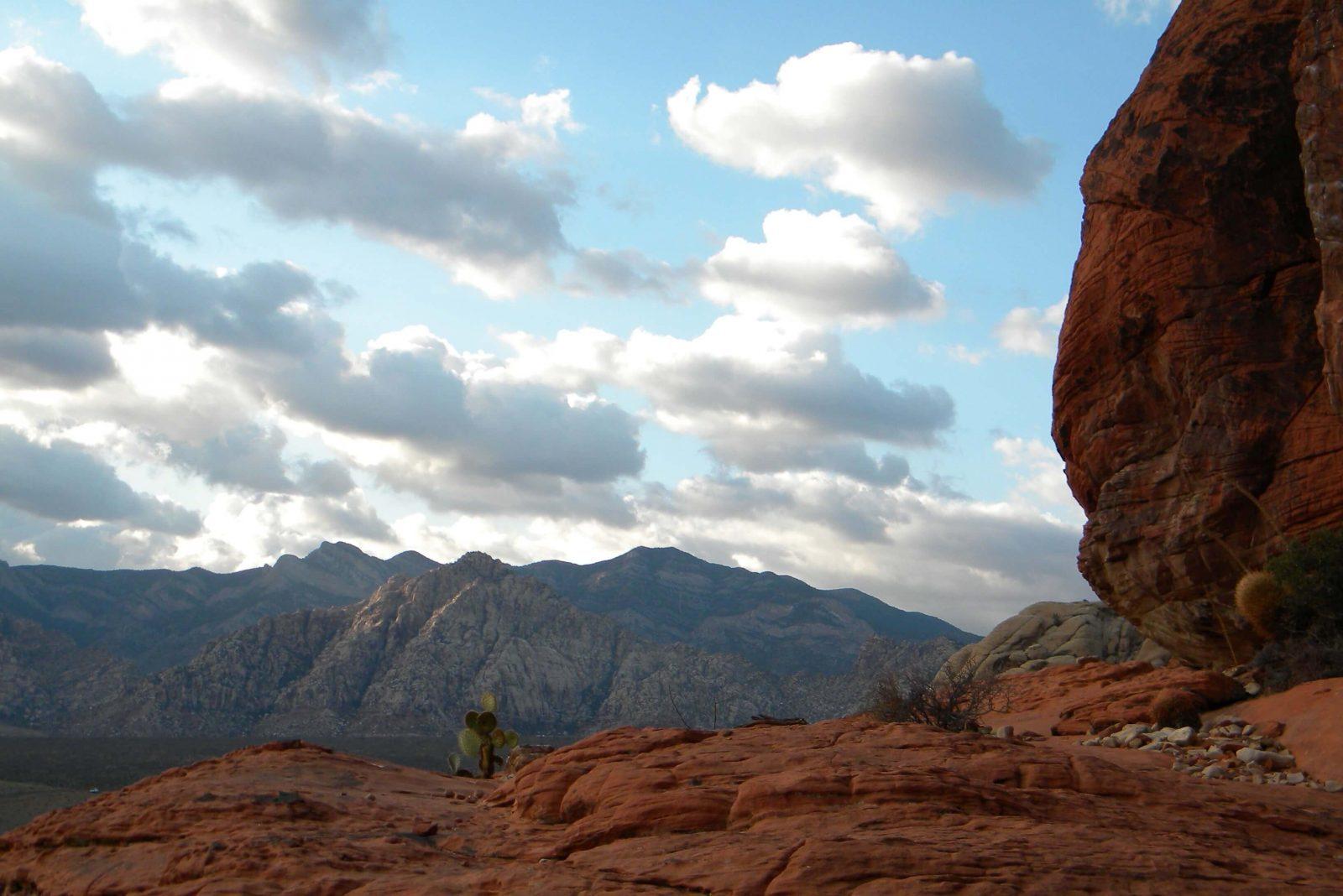 Red Rocks outside of Las Vegas