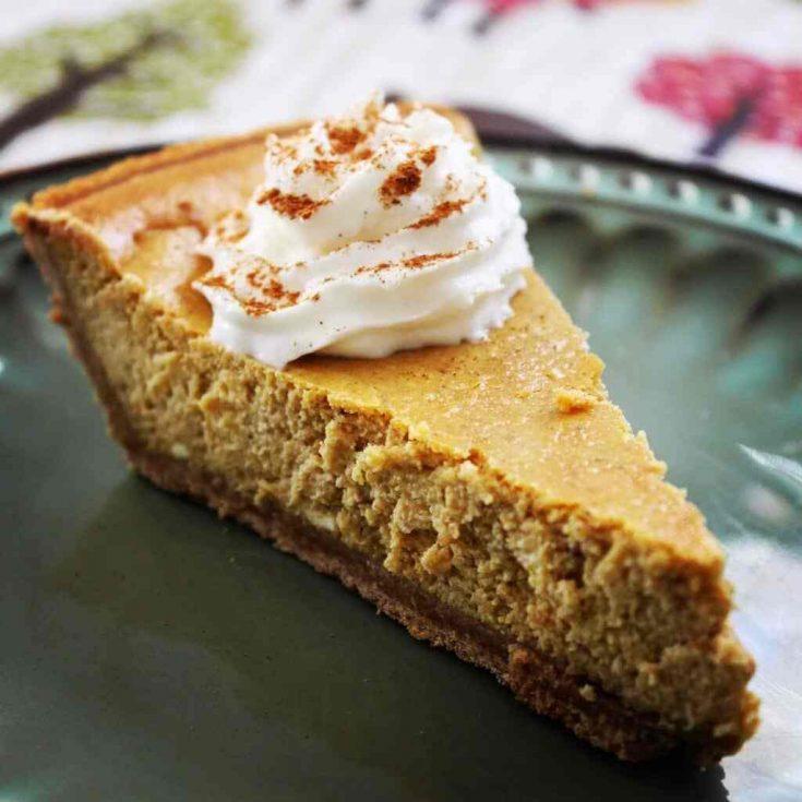 Easy Pumpkin Cheesecake