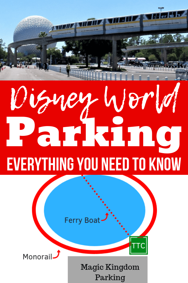 Everything you need to know about parking at Disney World - cost, location, where to park for free, disability parking, and more! Get Disney World tips and tricks, travel hacks, planning advice and more. #disneyworld #traveldestinations #traveltips