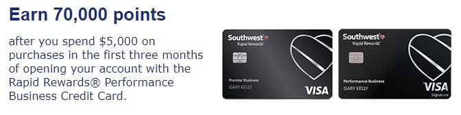 credit card promotion
