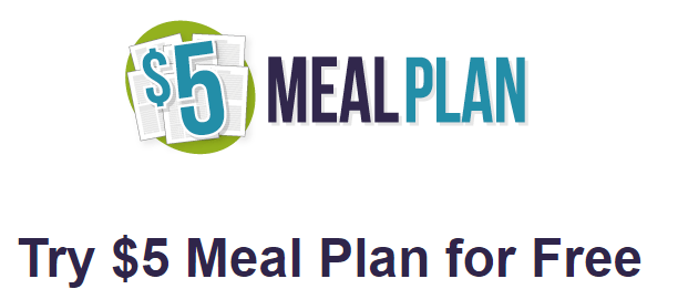 $5 meal plan for free image
