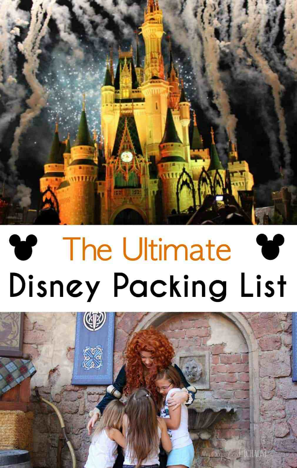 the ultimate disney packing list pinterest image