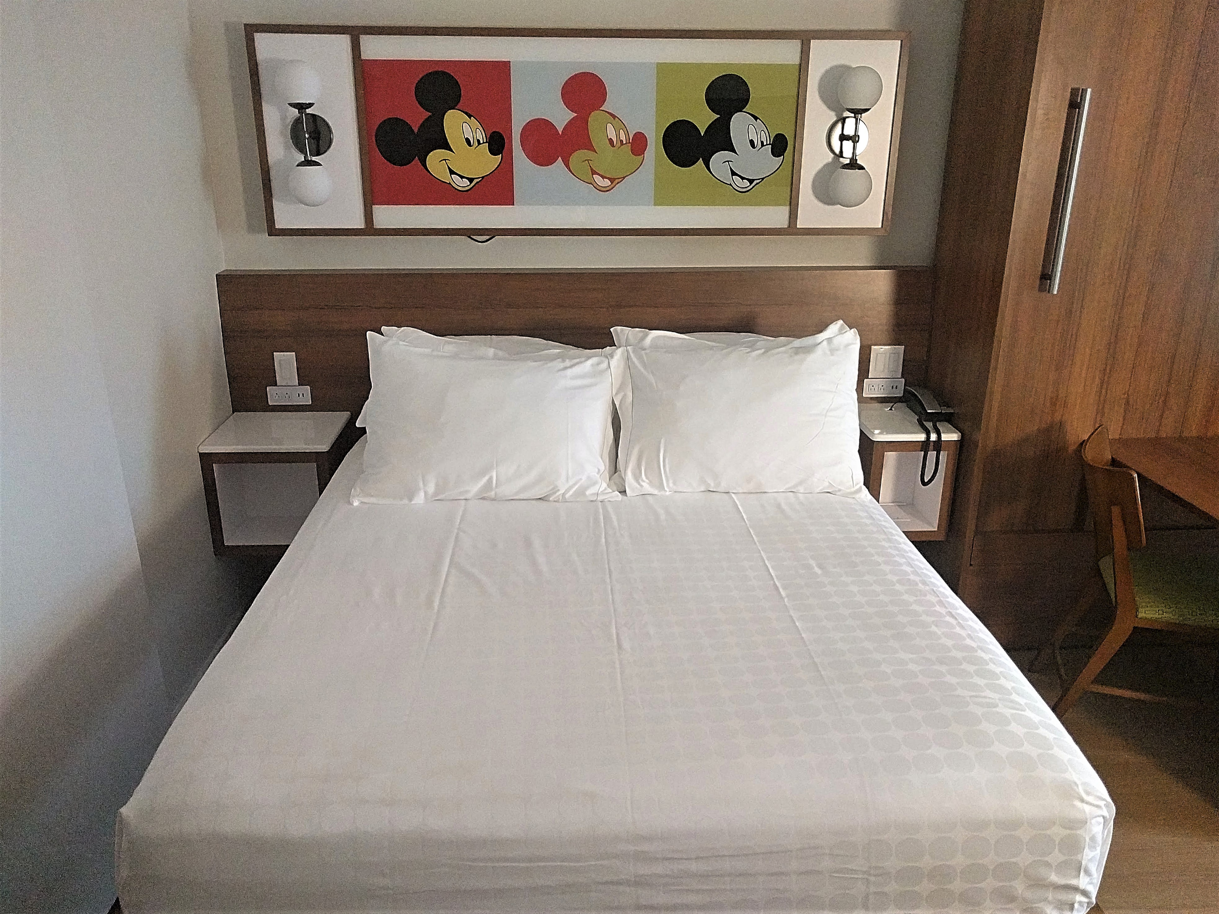 mickey mouse themed room
