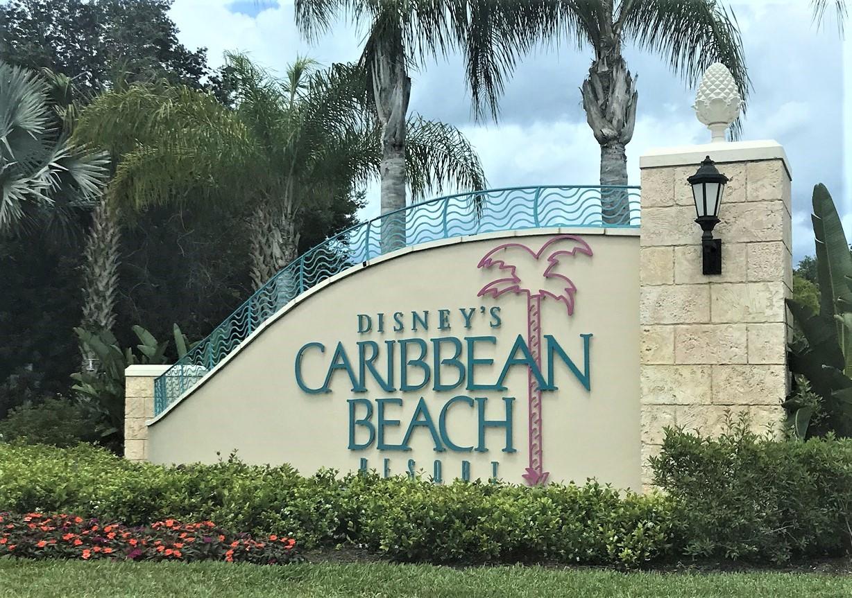 Disney's Caribbean Beach Resort Entrance Sign