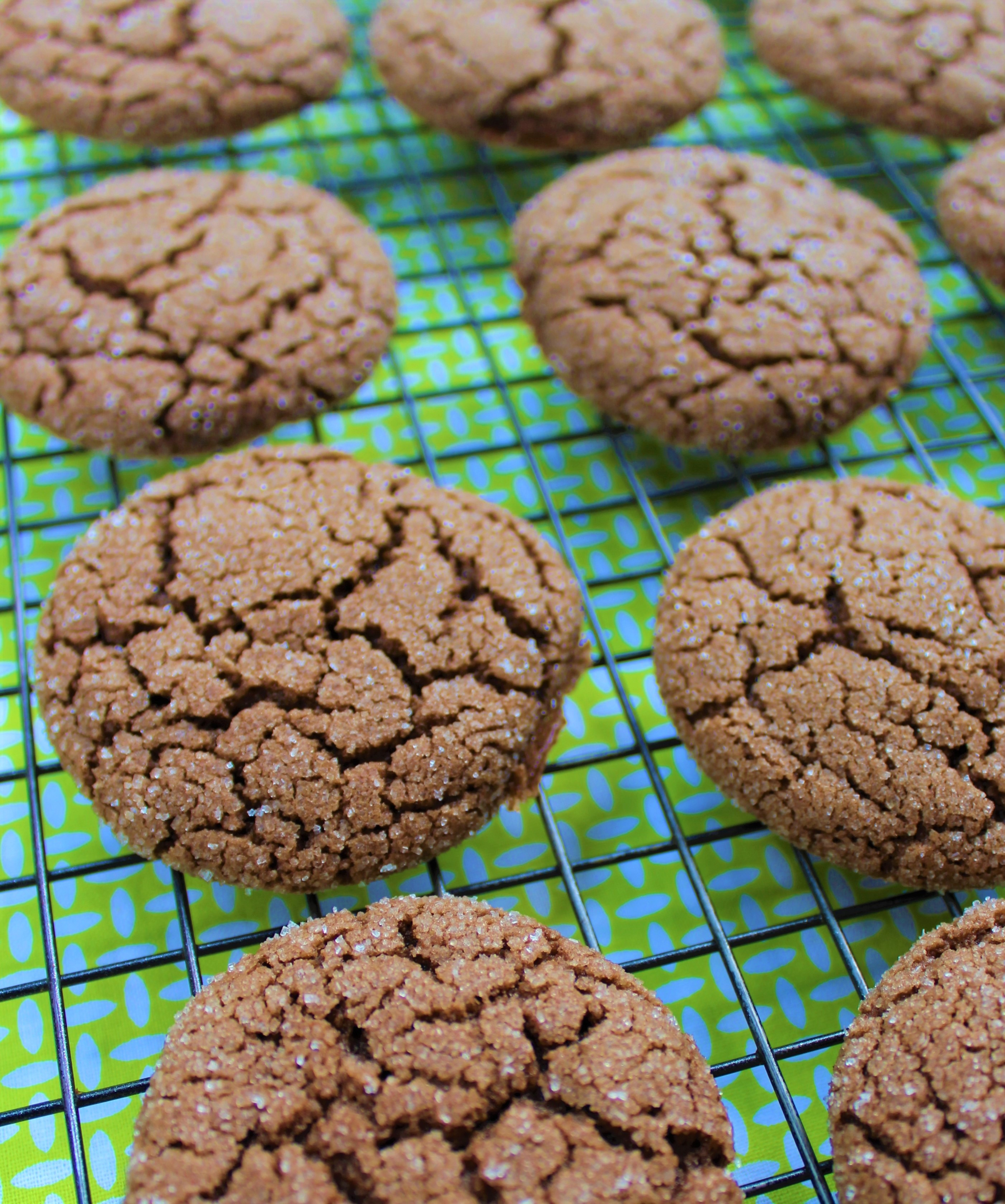 easy chocolate cookies without butter close up
