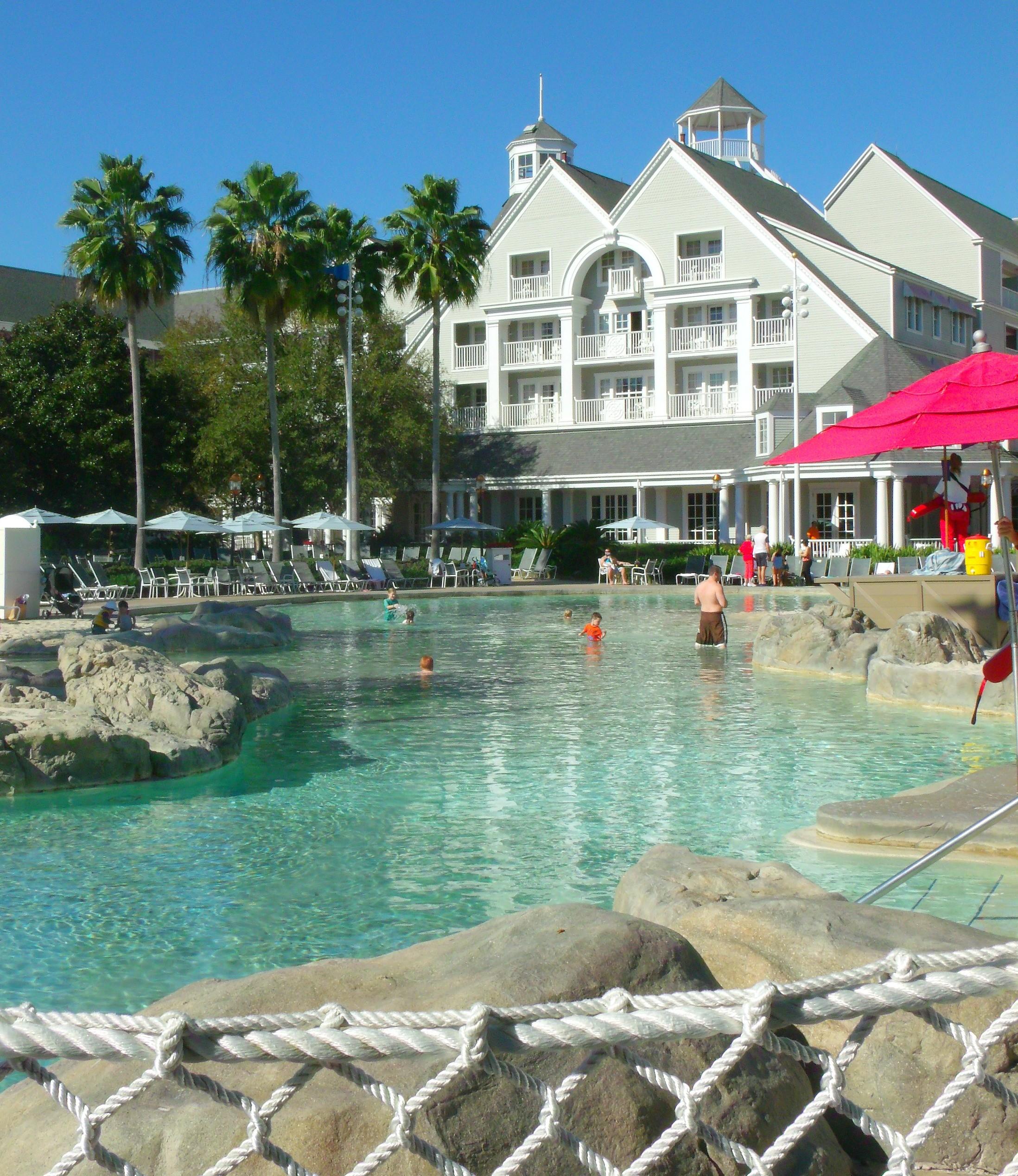 Disney's Beach Club Villas and pool