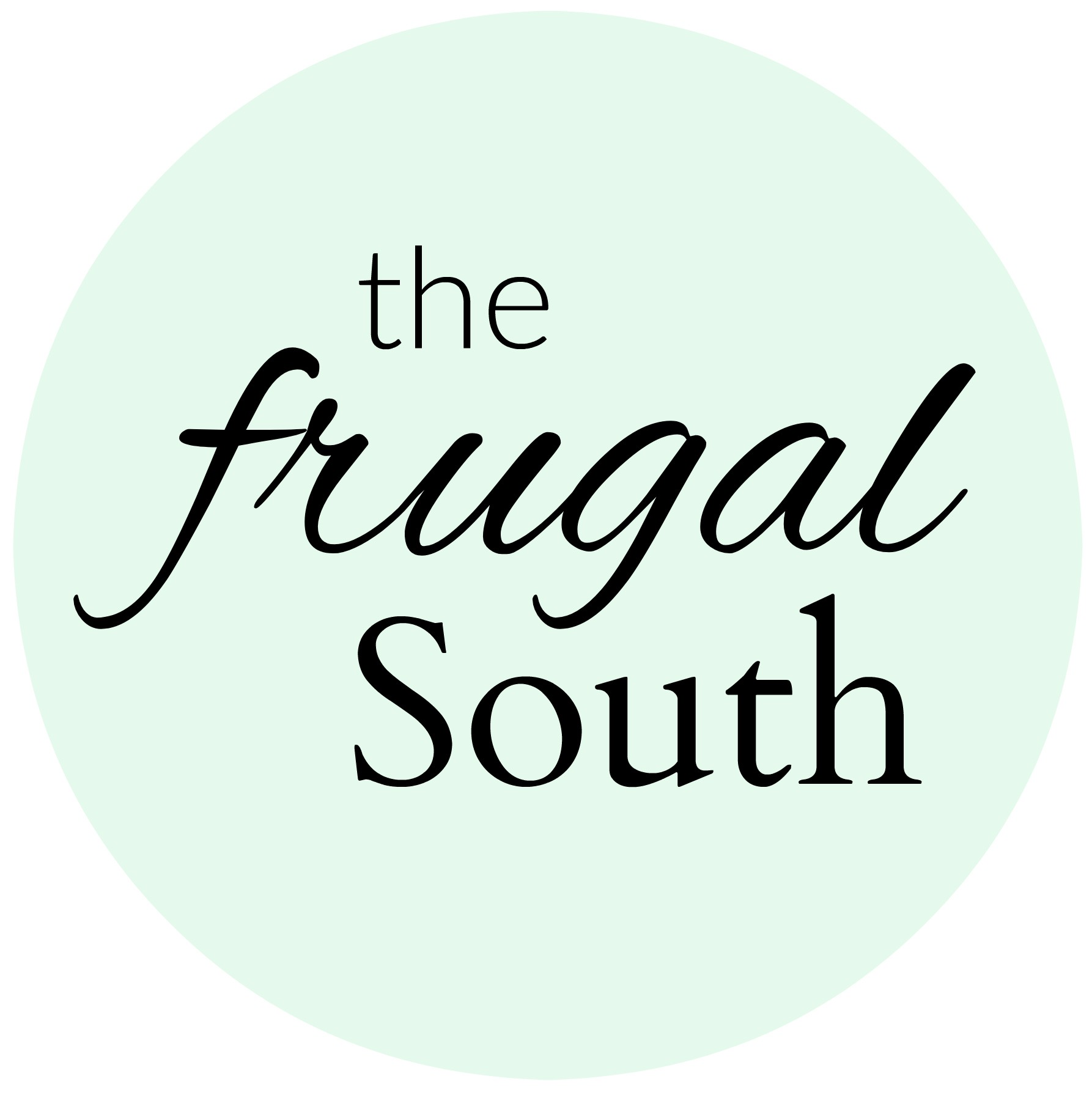 The Frugal South logo