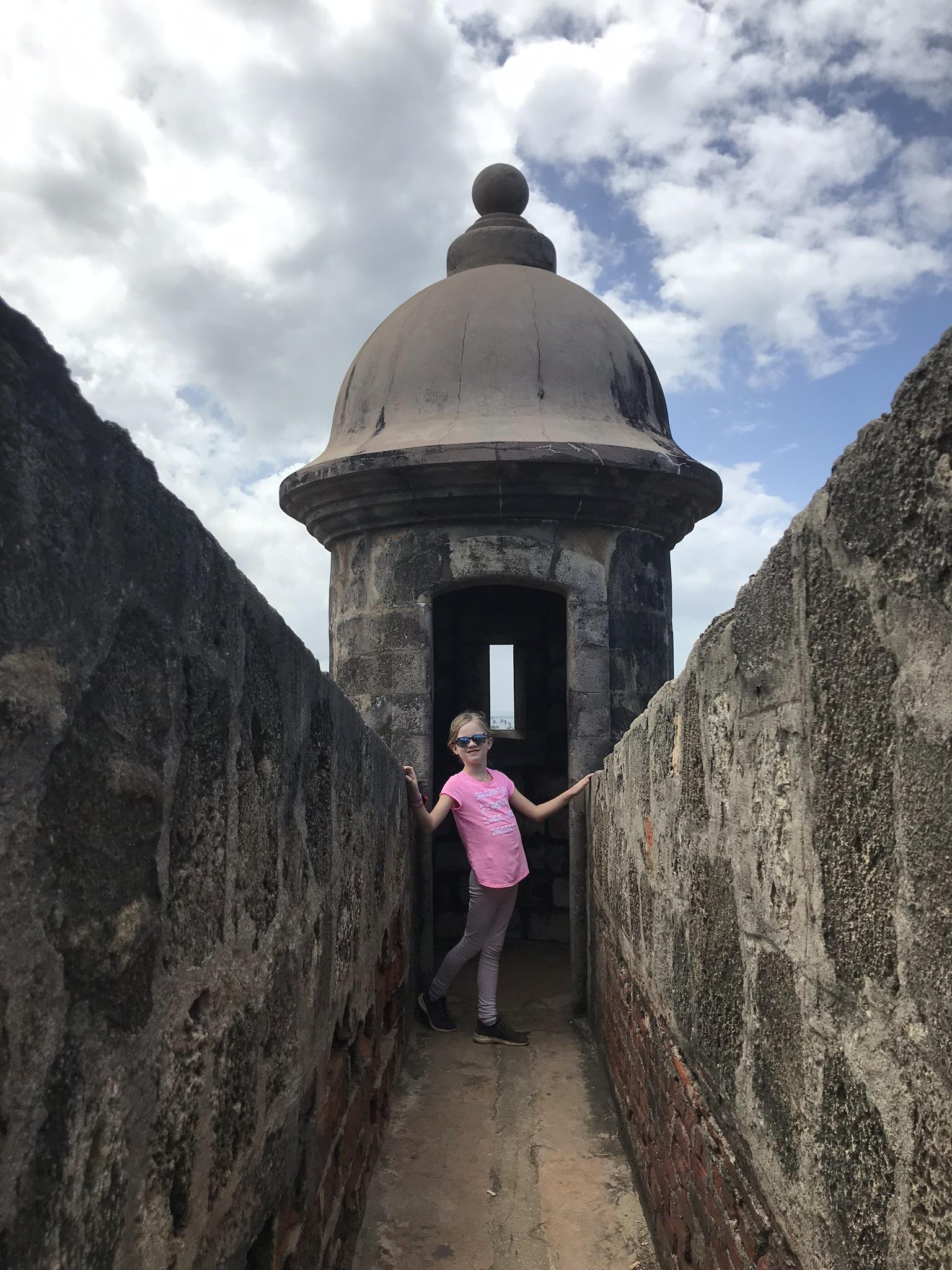 visiting el morro in puerto rico with kids
